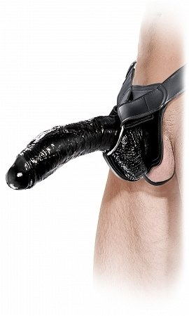Pipedream Fetish Fantasy Extreme Hollow Strap-On, Black