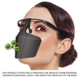 Snowfoller Plastic Protective Mask,Breathable