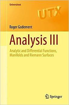 Analysis III (Universitext)