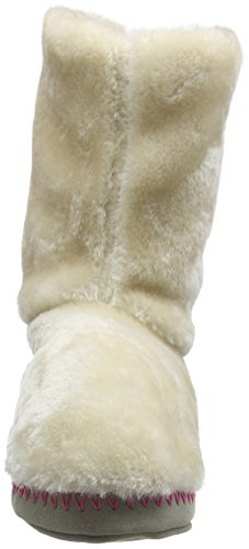 Animal Women's Bollo Hi-Top Slippers Beige (Cream) DPgo1