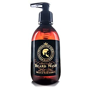 Lujoso jabón líquido Modern Day Duke para la barba, champú para la barba, jabón para la barba, promueve un crecimiento saludable - Botella XL 200ml