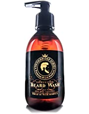 Beard Shampoo Soft Cleansing Wash - Modern Day Duke Luxurious Beard Wash, XL 200ml - containing Aloe, Cedarwood and Lime - Gently cleans and conditions, promoting healthy growth for clean, soft, full beards