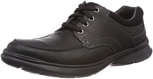 para Black de Derby Oily Lea Clarks Cotrell Edge Cordones Negro Hombre Zapatos wZzXtYz