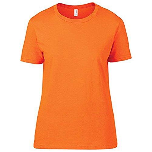 Anvil - Camiseta - para mujer naranja neón