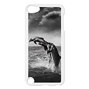 Custom Black Whale Ipod Touch 5 Case, Black Whale Personalized Case for iPod Touch5 at Lzzcase