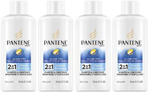 Pantene Classic Shampoo Conditioner Travel