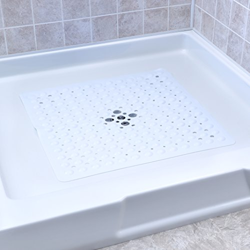 Deluxe Square Shower Mat White product image