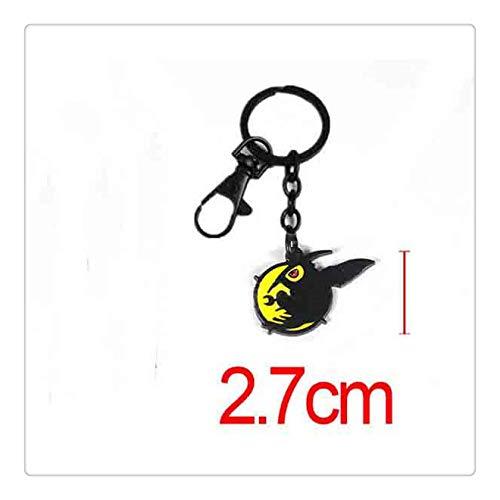 YshengHu Accessories Anime Cosplay Costume Keyring Pendant Metal Necklace Game Model Keychains YshengHu-5291
