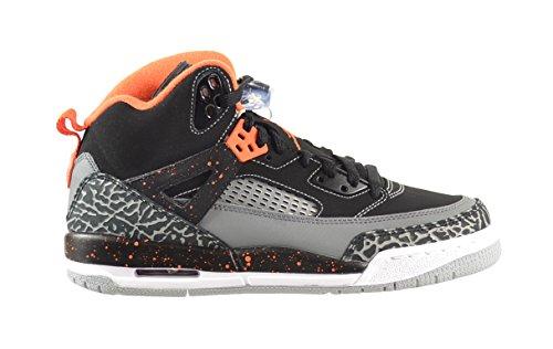 Jordan Spizike BG Big Kids Shoes Black/Electric Orange-Clay Grey-Wolf Grey 317321-080 (6.5 M US)