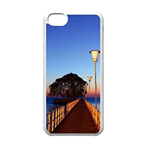 Charming scenery Unique Design Cover Case with Hard Shell Protection for Iphone 5C Case lxa#225526