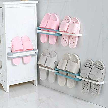 Shoe Organizers 3 in 1 Folding Slippers Frame Portable Wall ...