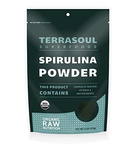 Terrasoul Superfoods spiruline en poudre (organique), 6 once
