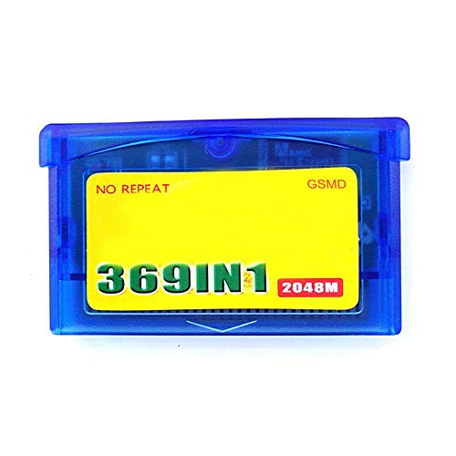 369 in 1 Game Cartridge for G-B Console - Card 32 Bit Video Game Compilations Classic Collection English Version