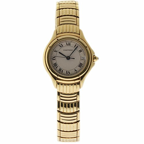 Cartier Cougar swiss-quartz womens Watch W35009F9 (Certified Pre-owned)