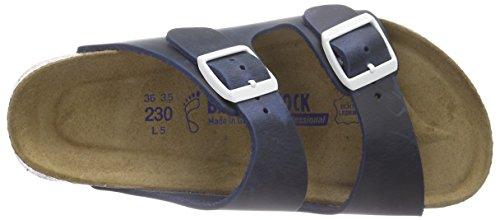 Birkenstock Professional ARIZONA - zuecos de cuero unisex azul - Blau (BLUE)