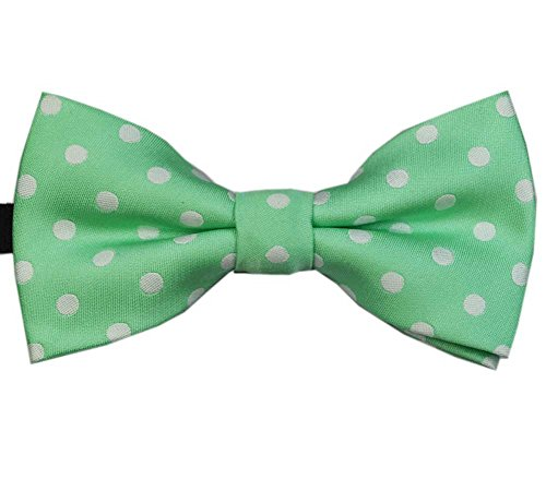 Heypet Colorful Dots Bow Tie, Adjustable Bowtie