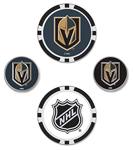 WinCraft NHL Las Vegas Golden Knights Ball Marker Set of Four