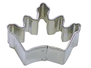 R&M Mini Crown Coronation Cookie Cutter in Durable, Economical, Tinplated Steel