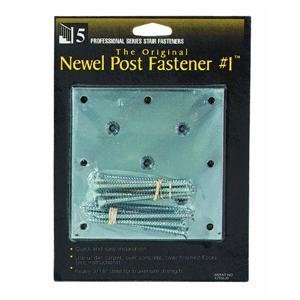 BW Creative Wood HW9518000W Newel Fastener (Bw Creative Wood)