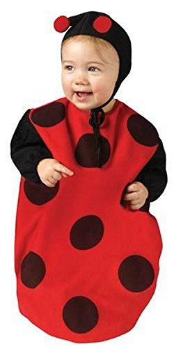Baby Bunting -Lady Bug Newborn Costume 0-9 Months -