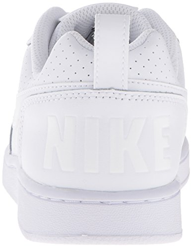 Nike Wmns Court Borough Low, Zapatillas de Baloncesto para Niñas Blanco (Blanco (white/white-white))