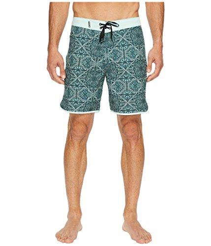 """Hurley  Men's Phantom Casa 18"""" Boardshorts Mint Foam Swimsuit Bottoms"""
