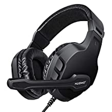 Modohe NUBWO Gaming Headset Mic for Xbox one PS4 Controller, Skype PC Stereo Gamer Headphones with Microphone Computer Xbox one s Playstation 4 Xbox 1 x Games