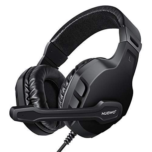 Modohe NUBWO Gaming Headset Mic for Xbox one PS4 Controller, Skype PC Stereo Gamer Headphones with Microphone Computer Xbox one s Playstation 4 Xbox 1 x Games 41TSsn08NmL  Home Page 41TSsn08NmL
