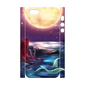 NABOAT The Little Mermaid Phone 3D Case For iPhone 5,5S [Pattern-4]