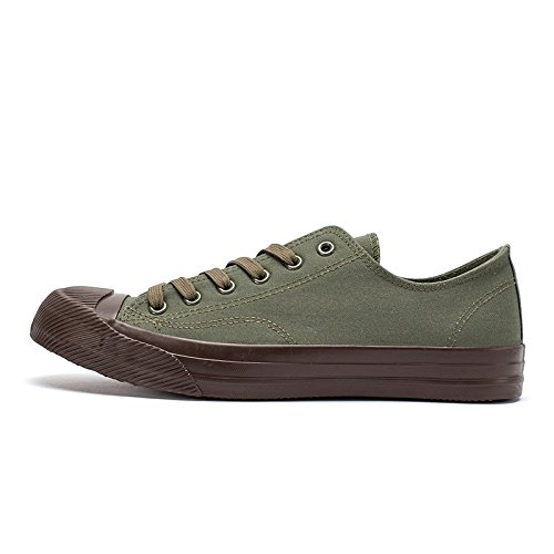casual scarpe estive basso WFL marea per aiutare primavera le verde scarpe in e di Scarpe primavera selvaggia uomini tela autunno aqxTUFwq1