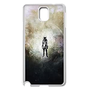 Durable Hard cover Customized TPU case Retro Spaceman Samsung Galaxy Note 3 Cell Phone Case White