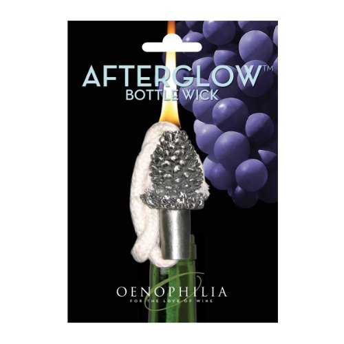 Oenophilia Afterglow Bottle Wick - (Pinecone Lantern)