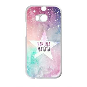 Personalized Creative Cell Phone Case For HTC M8,hakuna matata star background by icecream design