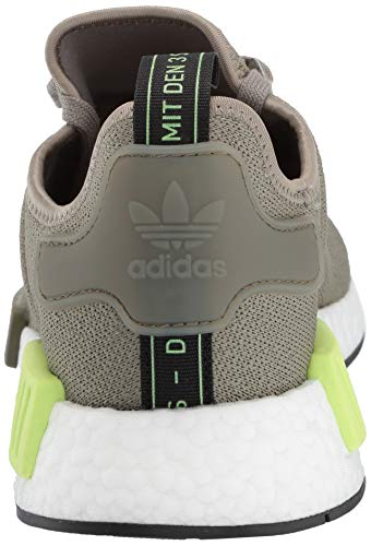 adidas Originals Men's NMD_R1 Running Shoe Trace Cargo/Solar Yellow, 4 M US by adidas Originals (Image #2)