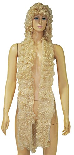 UHC Women's Godiva Bargain Curly Blonde Wig Halloween Costume (Lady Godiva Costume Halloween)