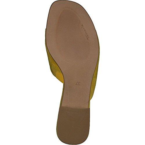 Tamaris 1-27122-30 Women`s Clogs Yellow BxLMeyIMu