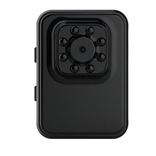 Aurorax Mini IP Camera, R3 1080p HD WiFi Wireless Security Surveillance DV Audio Camera System (Black)
