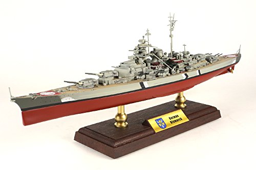 (Forces of Valor 1:700 UN861006A Bismarck-Class Battleship German Navy, Bismarck, Battle of The Denmark Strait, May 1941)