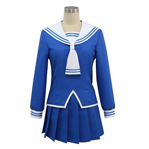 HOLRAN Women's Fruits Basket Cosplay Costume (Women-XXL, Blue)
