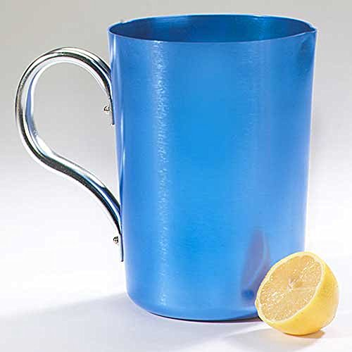 small aluminum pitcher - 7