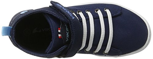 Baskets Navy Bleu Viking Mixte Frogner Mid Enfant 501 Hautes White wpq4vBZxa