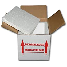 7X7X6 INSULATED SHIPPING BOX W/ 3/4 FOAM (15 PACK)