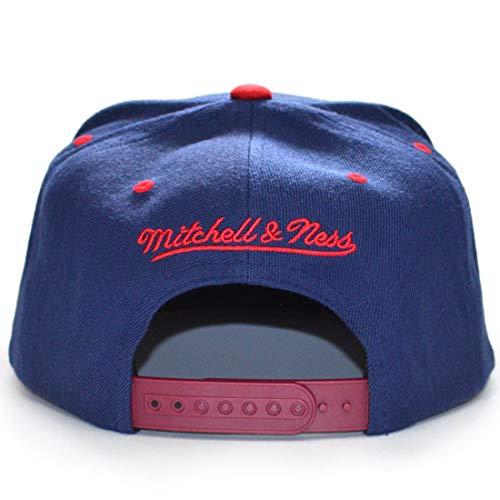 Ness única Gorra béisbol Azul para Mitchell de amp; Talla Hombre Azul 6O5FxRfqw