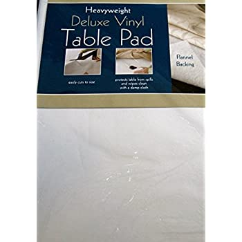 Amazon Com Heavyweight Deluxe Vinyl Table Pad With