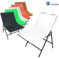 LimoStudio Photography Photo Studio Foldable Photo Shooting Table with 5 Color Paper Background Set, AGG1474