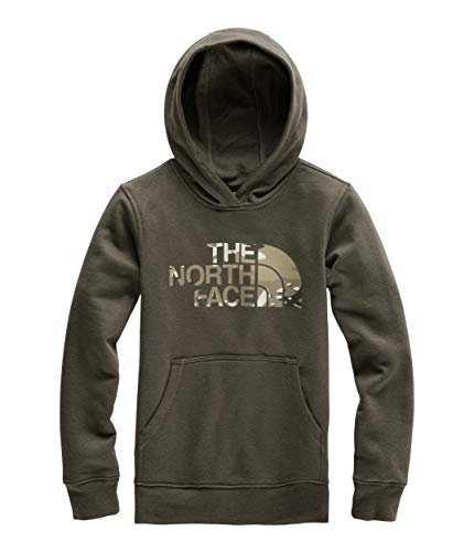 The North Face Boys Fleece - The North Face Kids Boy's Logowear Pullover Hoodie (Little Kids/Big Kids) New Taupe Green Medium