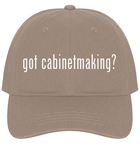 The Town Butler got Cabinetmaking? - A Nice Comfortable Adjustable Dad Hat Cap, Khaki