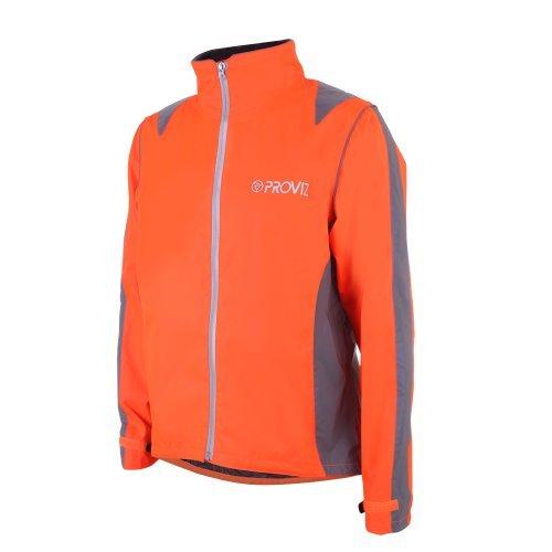 Proviz Nightrider Mens Jacket, Safety Orange, Large]()