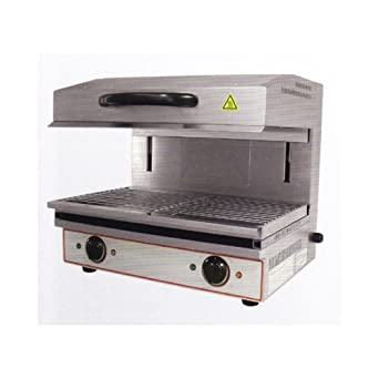 Salamandra grill eléctrico horno de pizza RS1788: Amazon.es ...
