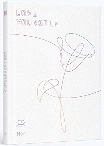 BTS - LOVE YOURSELF 承 [Her] [V Ver.] CD+Photobook+Photocard+V Ver. Folded Poster+ Store Gift 7 Member Photocards